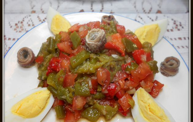 salade méchouya