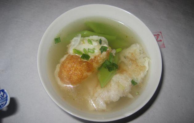 soupe chinoise...au poisson