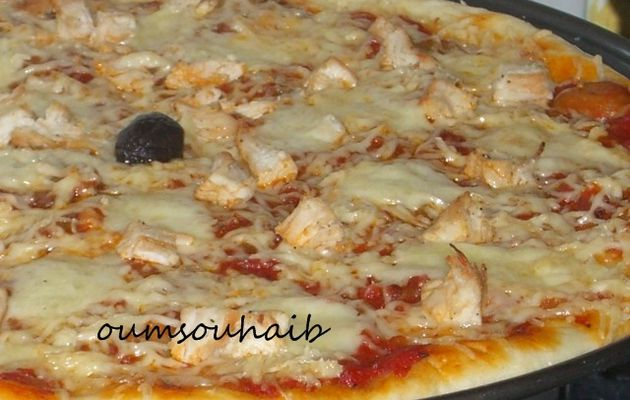 pizza royale champignons escalopes