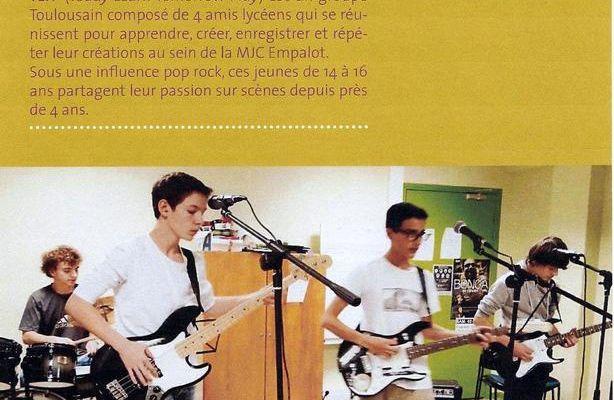 concert à la médiathèque d'Empalot