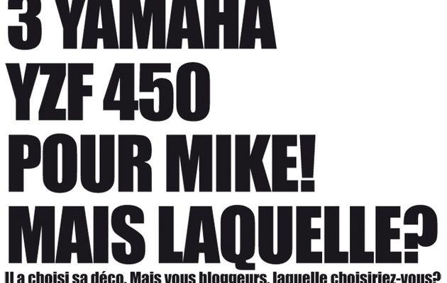 9/11/2010: Une Yamaha pour Michaël Tourneur