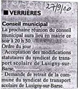 Grand LUSIGNY : 13 cocues .......dont 10 consentantes !