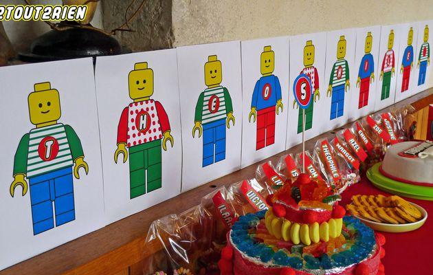 5 ans - Anniversaire LEGO