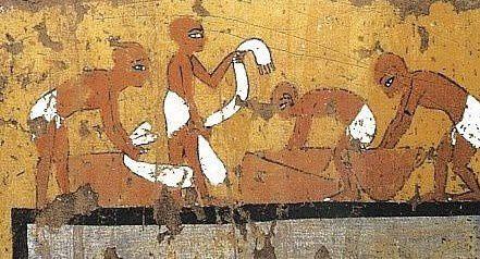 Laver son linge et les blanchisseurs, l'hygiène de vie en Égypte ancienne !