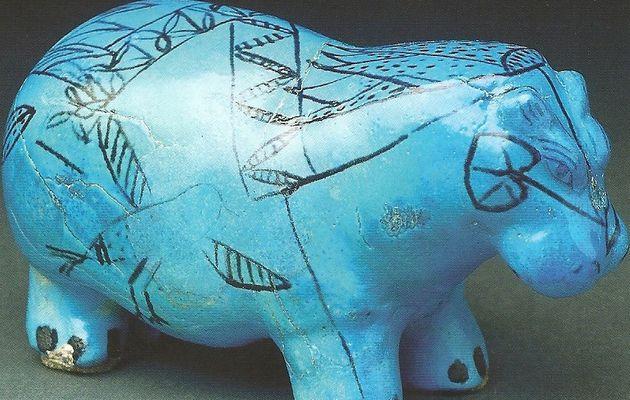 """Qu'appelle-t-on """"bleu Egyptien"""" ? : Art en Égypte ancienne !"""