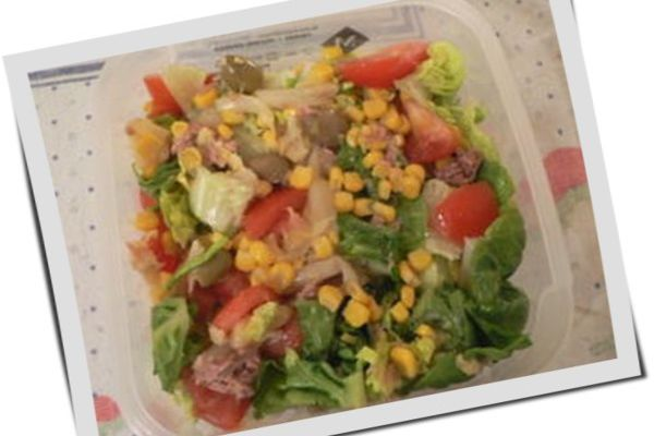 Salade verte aux asperges