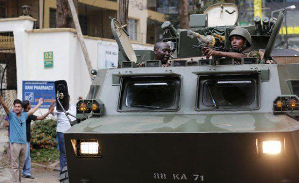 A Nairobi les forces spéciales ont commencé l'assaut