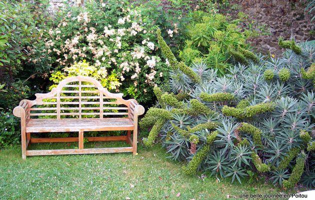 Jardin d'été en Normandie