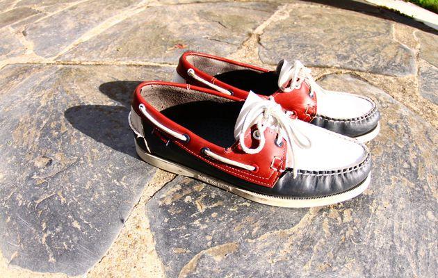 Des cadeaux pleins les chaussures bateaux