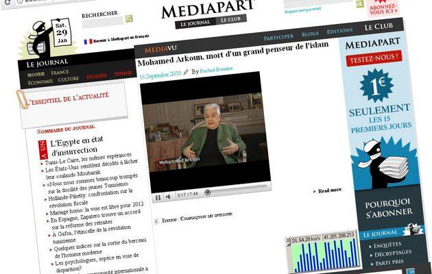 Articles & vidéos sur Med Arkoun