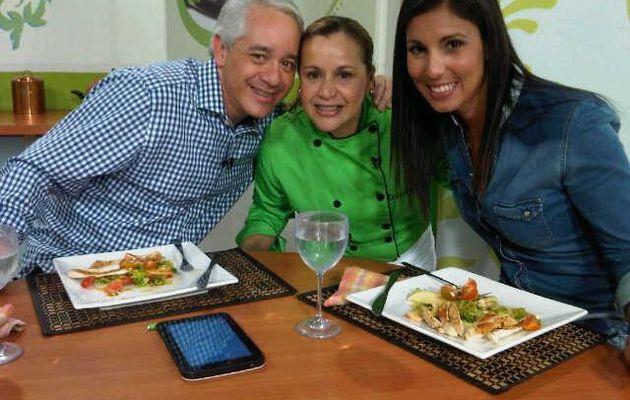 Pollo al Limón con Ensalada Fresca con Vinagreta de Parchita :)