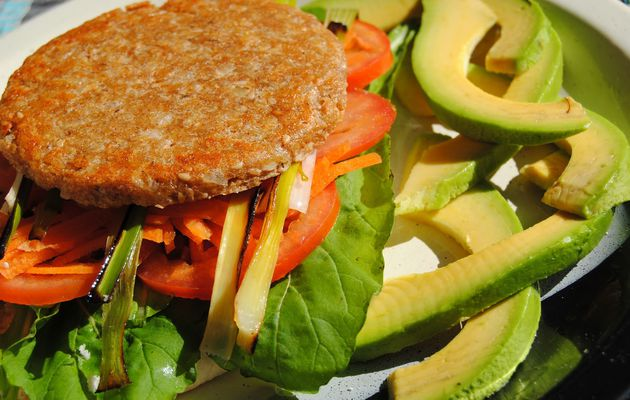 Hamburguesa de Soya y Arroz (receta light)