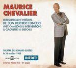 Maurice Chevalier : Dernier concert