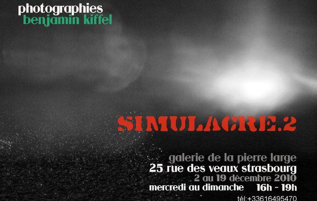 exposition simulacre.2 (2 au 19 décembre 2010) benjamin kiffel