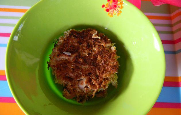 omelette de poulet (allégée)