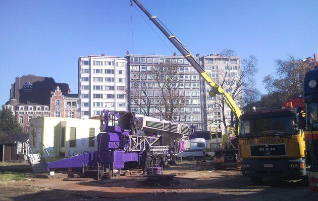 Fin de la foire 2011 à Liège...