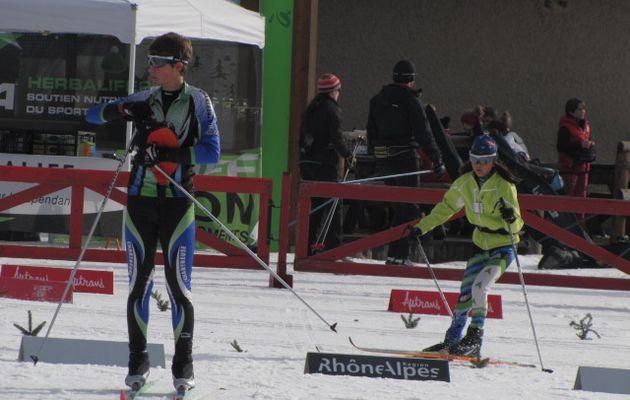 1° course de l'hiver à Autrans le 21/12/13