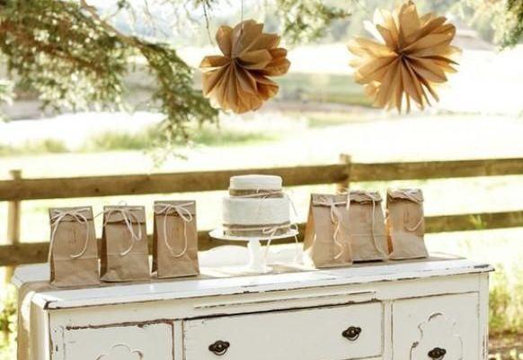 Inspiration décoration mariage vintage