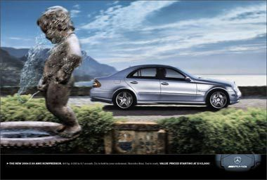 La pub du week-end : Mercedes !