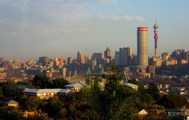 JOHANNESBURG... SOWETO... WELCOME IN SOUTH AFRICA