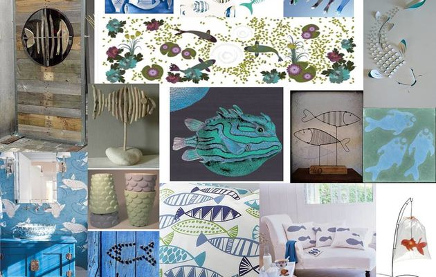 DECORATION INSPIRATION POISSON