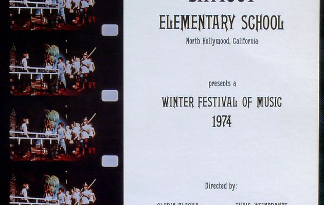 Saticoy Elementary School - A Winter Festival of Music (1974)