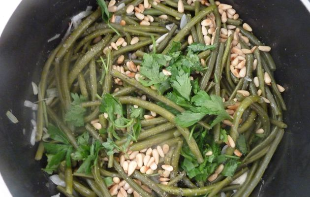 Haricots verts new âge !