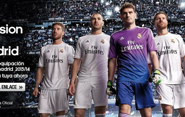 Maillots 2013-2014 : le Real Madrid a-t-il sorti sa plus belle tunique ?
