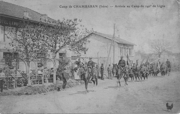 Le 140ème RI avant 1914-1918