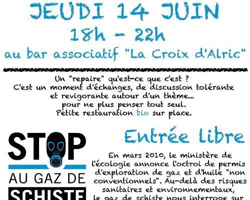 Le 14 juin au bar associatif La Croix d'Alric dans le Tarn