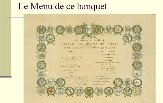 Les menus à travers les âges (5)