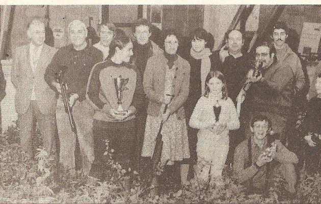 Chez les carabiniers auxilois en octobre 1981.