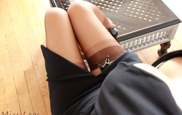 Bas Fully Fashioned... irrésistible douceur sur mes jambes !
