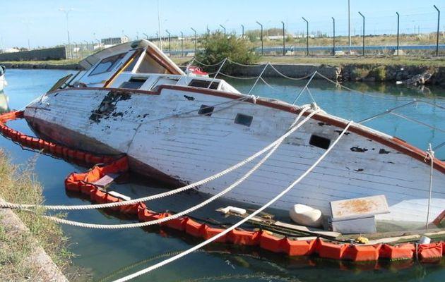 Dépollution Nautique, la société qui recycle les vieux bateaux