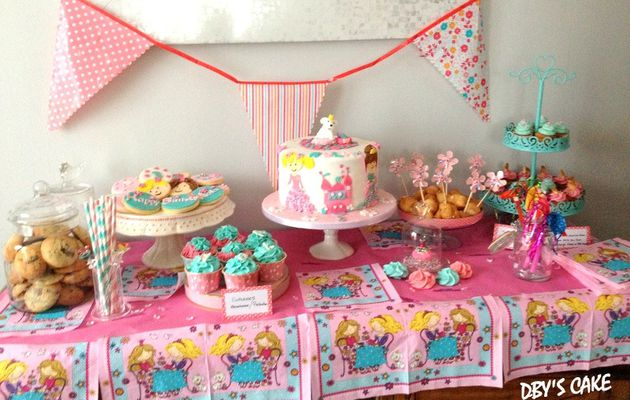 Sweet Table Petites Princesses