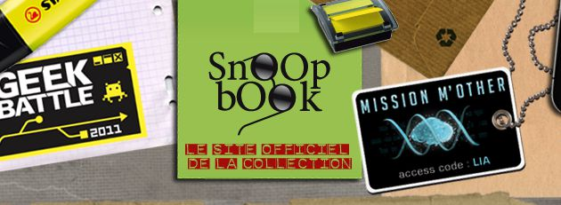 Zoom sur... les SnOOp bOOk