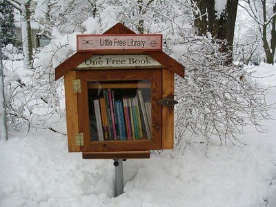 Zoom sur... la Little Free Library