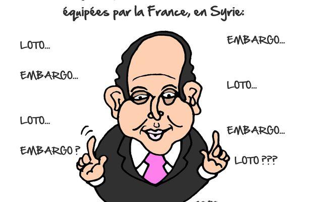"""Laurent Fabius """"géné"""" par la vente d'armes russes en Syrie:"""