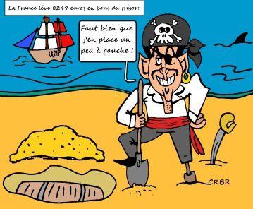 La France lève 8249 milliards d'euros de bons du trésor: