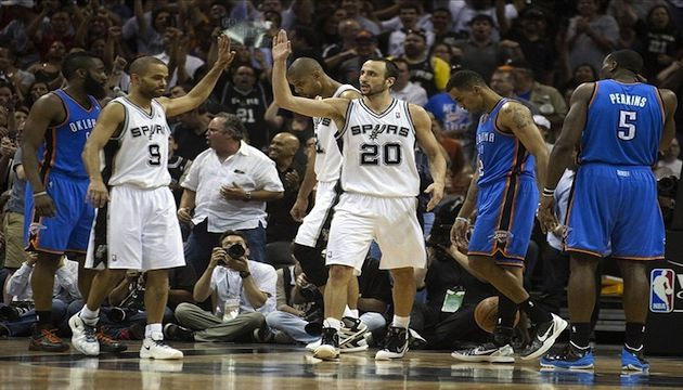 NBA - Finale Playoffs, Game 2: Les Spurs San Antonio enchaînent face à Oklahoma City