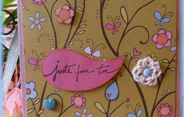 Pour mon Amie Chantal...