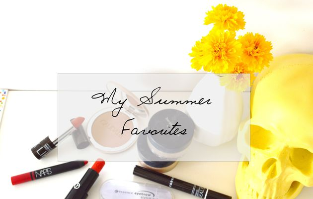 My summer beauty favorites.