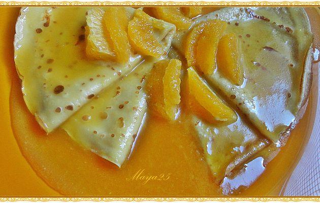 Crêpes au caramel d'orange de Patrick