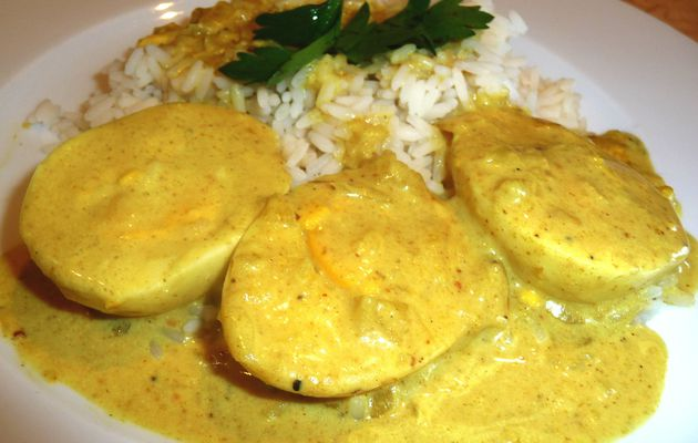 Oeufs au curry