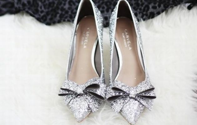 Chaussures pour mariage d'hiver