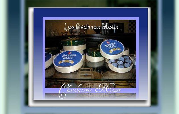 Le chocolat Bresse-Bleu