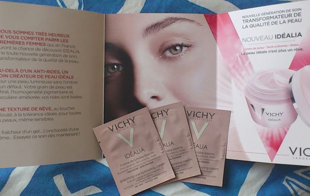 Test soin Idealia Vichy