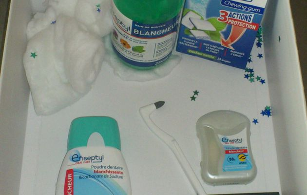 Box Efiseptyl - Kit blancheur des dents