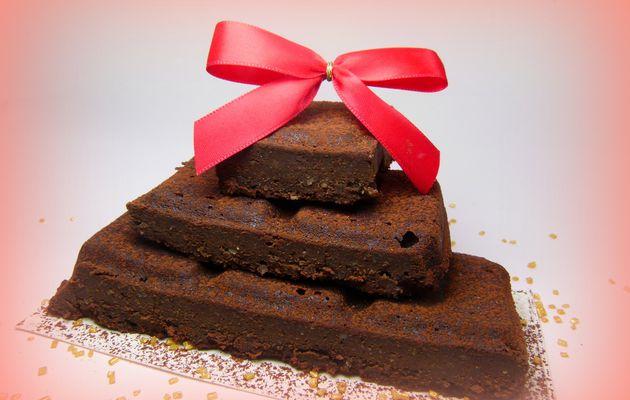 Gâteau au chocolat, ricotta, noisette # sans beurre, sans gluten