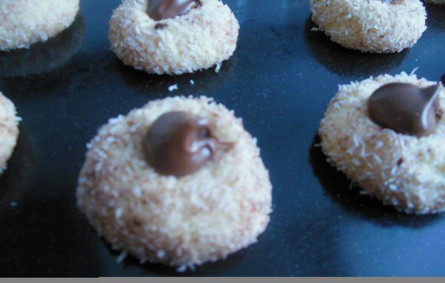 Petits gâteaux coco-choco